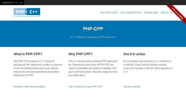 PHP-CPP-A-C-library