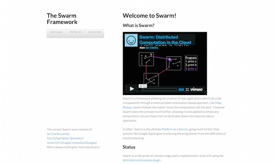 The Swarm Framework