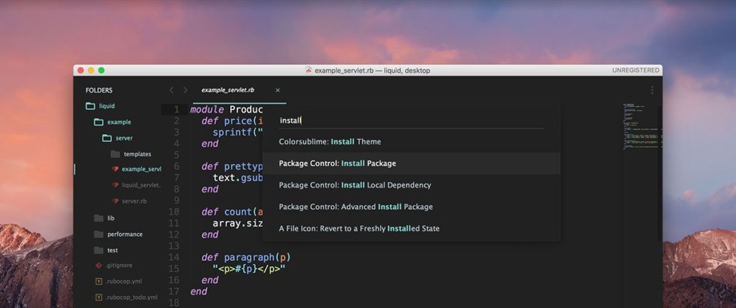 15 Beautiful Free Themes for Sublime Text