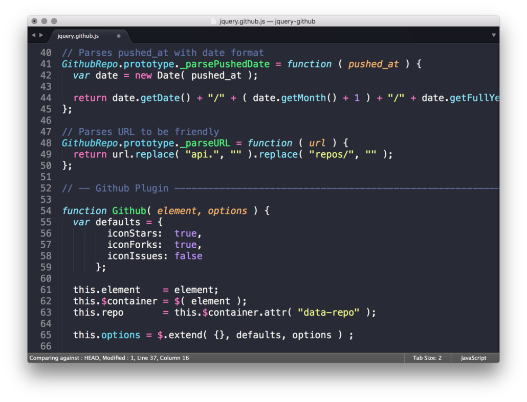 Dracula Sublime Text Theme