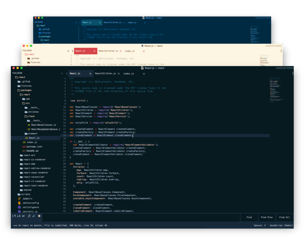 Edge Sublime Text Theme