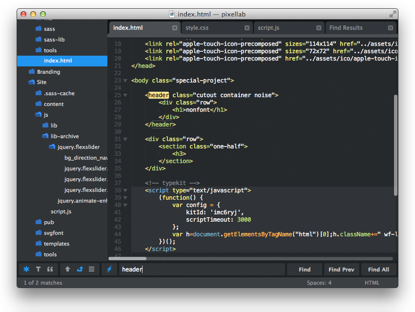 Flatland Sublime Text Theme