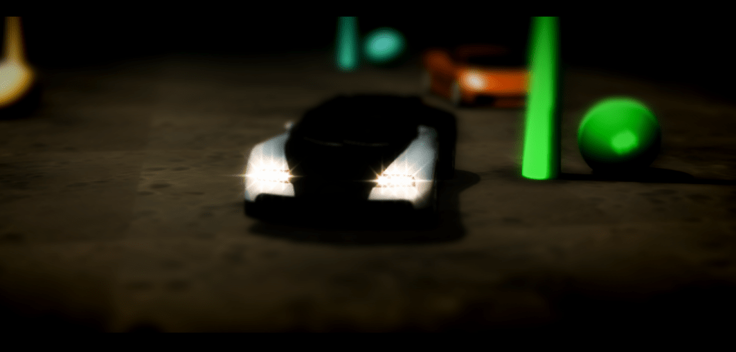 Racing game threejs