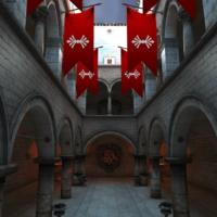 3D WebGL of Sponge Castle